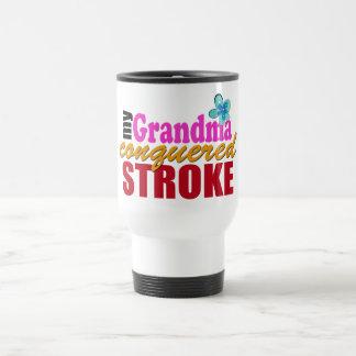 Grandma Beat Stroke 15 Oz Stainless Steel Travel Mug
