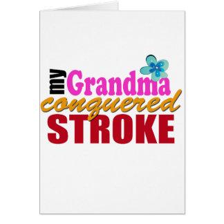 Grandma Beat Stroke Card