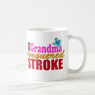 Grandma Beat Stroke Classic White Coffee Mug