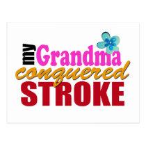 Grandma Beat Stroke Postcard