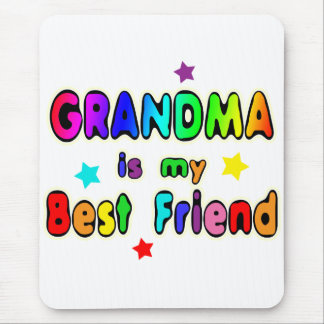 Grandma Best Friend Mouse Pad