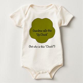 "Grandma calls this ""Up-Chuck"" (But w... Baby Bodysuit"