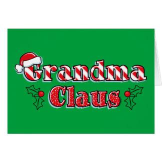 Grandma Claus Card