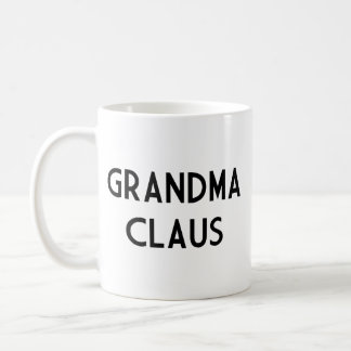 Grandma Claus Coffee Mugs