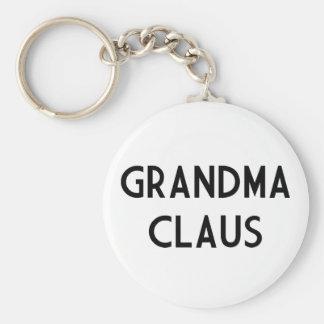 Grandma Claus Keychain