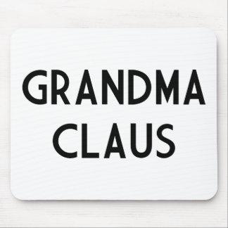 Grandma Claus Mousepad