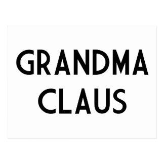 Grandma Claus Post Cards