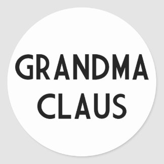 Grandma Claus Sticker