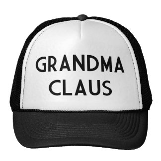 Grandma Claus Trucker Hats