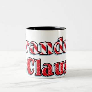 Grandma Claus Two-Tone Coffee Mug