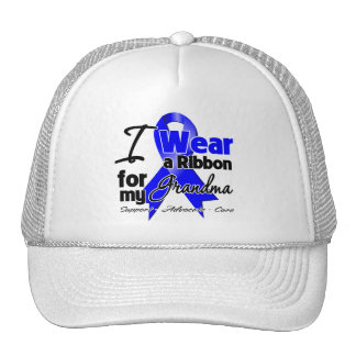 Grandma - Colon Cancer Ribbon Hat