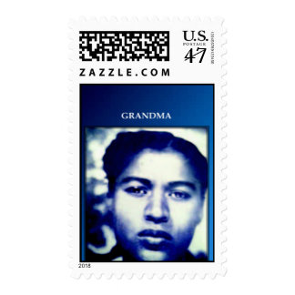 Grandma, Custom Designed USPS Stamp