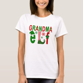 GRANDMA elf christmas ..png T-Shirt