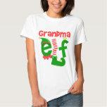 Grandma elf tee shirt