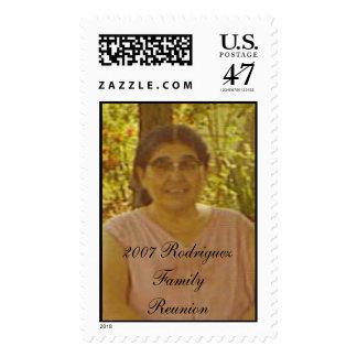 Grandma Emilia DeLeon, 2007 Rodriguez Family Re... Postage