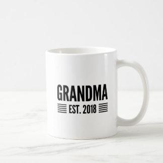 Grandma Est 2018 Coffee Mug