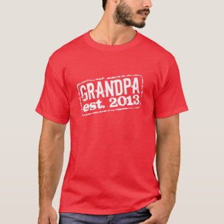 Grandma established 2013 t shirts | Customizable