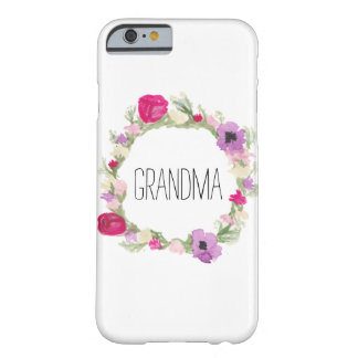 Grandma Floral Wreath Case Mother's Day Gift