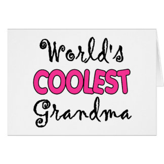 Grandma Gift Greeting Card