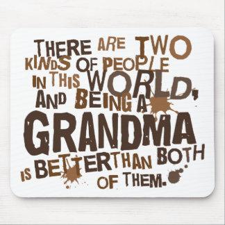 Grandma Gift (Funny) Mousepads