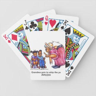 Grandma goin to whip yo #$%^$% card deck