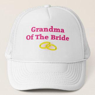 Grandma / Grandmother Of The Bride Trucker Hat