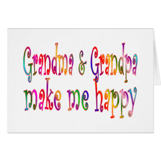 Grandma & Grandpa Greeting Card