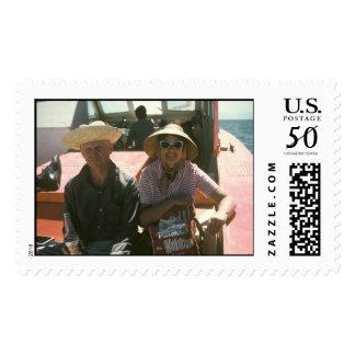 Grandma & Grandpa on Spring Break Postage