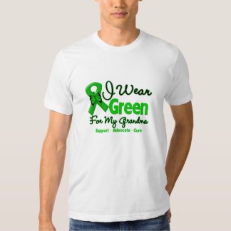 Grandma - Green  Awareness Ribbon T-shirt