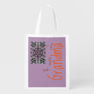 Grandma Grocery Bag with Image Placeholder