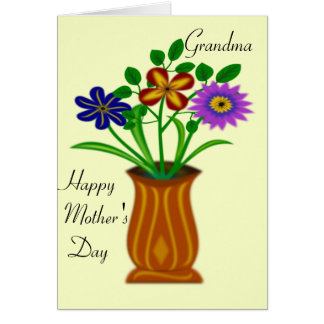 Grandma Happy mother's Day. Card