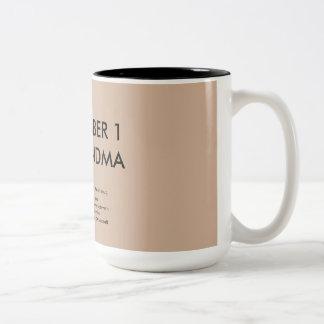 Grandma Hazel's #1 Grandma Mug