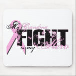 Grandma Hero - Fight Breast Cancer Mouse Pad