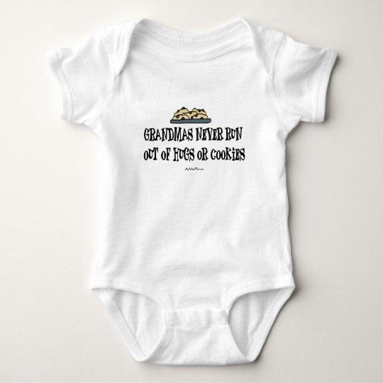 Grandma Hugs & Cookies Baby Bodysuit