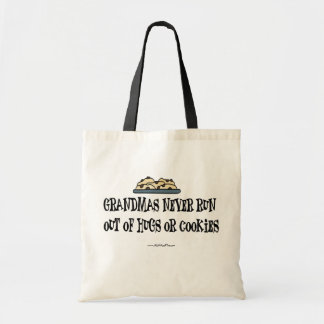 Grandma Hugs & Cookies Tote Bag