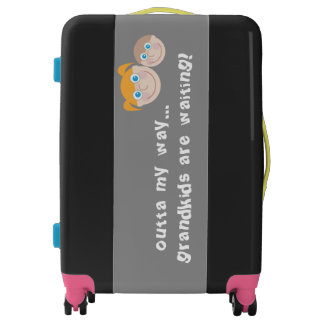 Grandma humor luggage
