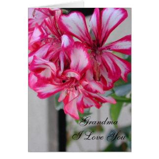 Grandma I Love You Card