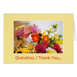 Grandma, I Thank You... Card