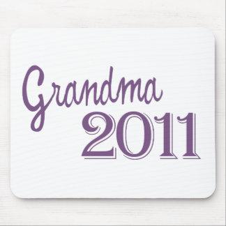 Grandma in 2011 mouse pad