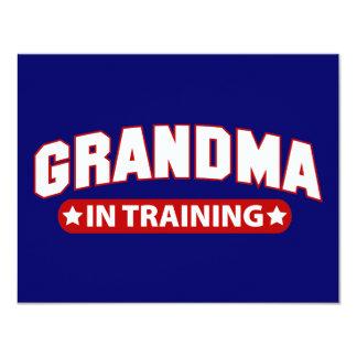 Grandma In Training 4.25x5.5 Paper Invitation Card