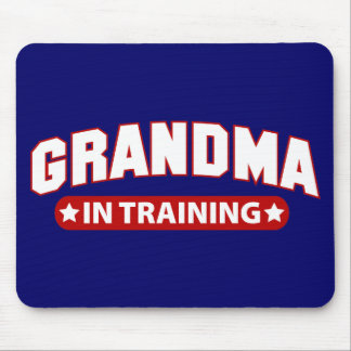 Grandma In Training Mouse Pads