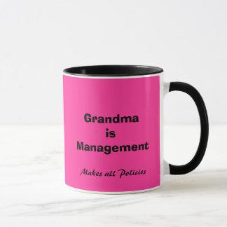 Grandma is Management Mug