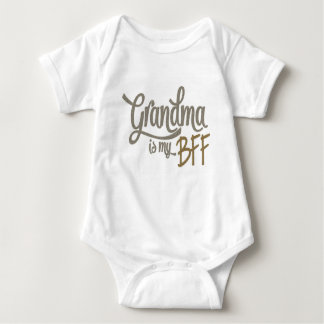 Grandma is my BFF Baby Bodysuit