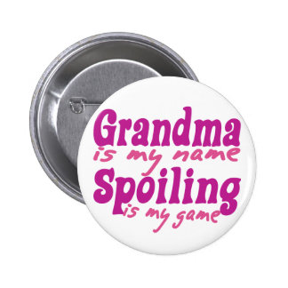 Grandma is my Name Buttons