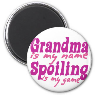 Grandma is my Name Magnet