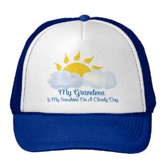 Grandma Is My Sunshine Trucker Hat