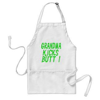 Grandma Kicks Butt! Apron