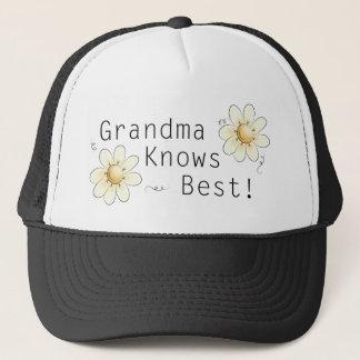 Grandma Knows Best Trucker Hat