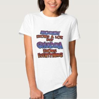 Grandma Knows Everything! T-Shirt