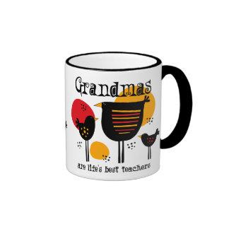 Grandma Life's Best Teacher Mug